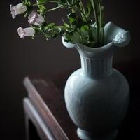 青白磁花瓶 PW034