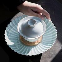 菊瓣茶盤 PG067