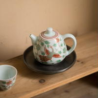五彩茶壺 PA028