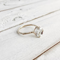K10 white topaz ring #11