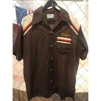 70s~Hilton bowling shirt (used)