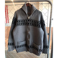 60s~vintage cowichan knit