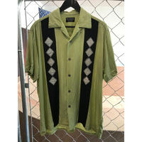 80s~Wild Dancer rayon shirt (used)