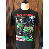 90s HOT ROD  Dennis Anderson T- shirt(used)