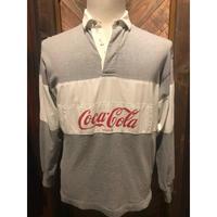 90s cocacolaラガーshirt(USED)