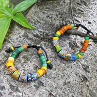 蜻蜓雅築珠芸工作室*パイワン族のツヤ消しブレスレット