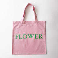 FLOWER TOTE BAG ピンク