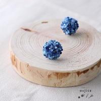 《つまみ細工》1.2cmイヤリング / nejico