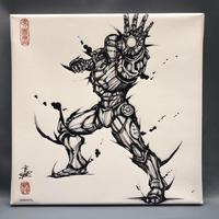 ファブリックボード / アイアンマン Fabric Board Ironman