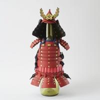 ボトルカバー 火消SAMURAI 【 消防団 (赤) 】