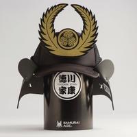 兜キャップLite / 徳川家康(しころ黒)