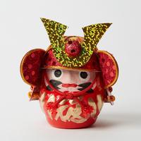 甲冑達磨ミニ / 赤 Samurai Armor Daruma
