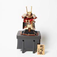 1/5 源氏八領 膝丸黒小札黒糸威 Samurai Armor