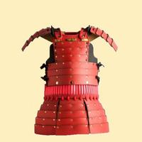 【受注生産】 ライト鎧『子供用』 / 赤・黒
