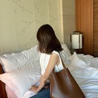 """【受注発注】tote bucket bag  """"brown"""""""