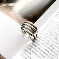 【ゆうパケ対象】silver925 4line ring