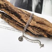 【ゆうパケ対象】coin chain bracelet