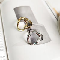 silver入荷【ゆうパケ対象】silver925  oval ring