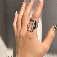 【ゆうパケ対象】silver925 square ring