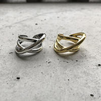 【silver入荷】silver925 design cross ring