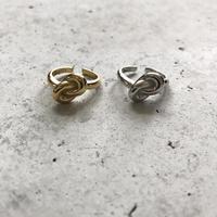 【ゆうパケ対象】silver925knot ring