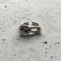 【ゆうパケ対象】silver 925 knot ring