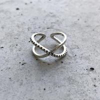 【ゆうパケ対象】silver 925 cross ring