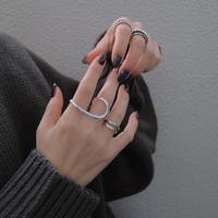 silver925 design ring