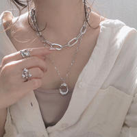 【ゆうパケ対象】chain necklace set