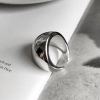 【ゆうパケ対象】silver925 wide volume ring