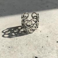 【ゆうパケ対象】silver 925 bubble motif ring