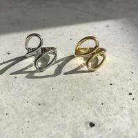 【ゆうパケ対象】silver925 drop ring
