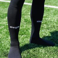 【 25〜27cm・黒 】alegre(アレグレ)サッカー用ソックス