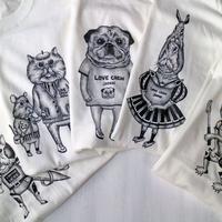 6/24【新柄追加】LOVE CREW ユニセックスTシャツ【送料無料】
