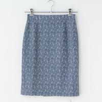 スウェット素材 レースタイトスカート(大草直子さんコラボ)