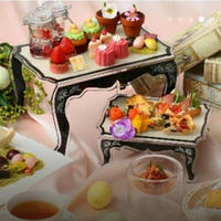残1【4/15募集】幸せのピンクベア&シャンパン付きイースター&ベリーハイヌーンティー