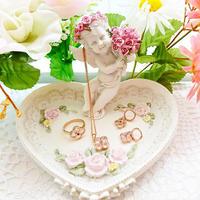 【残1】愛・美・優しさの幸せフラワーネックレス