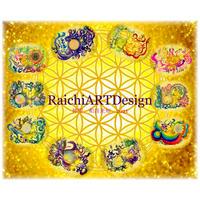 RaichiARTDesign カレンダー2021