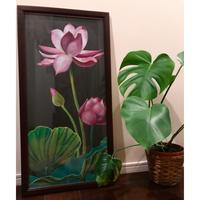 アートオブチョークアート(蓮 lotus)