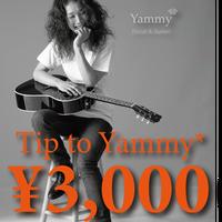 ¥3,000 Yammy*配信ライヴ用チップ(おひねり)