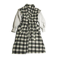 Kidole. SWEAT SLEEVE CHECH GOWN