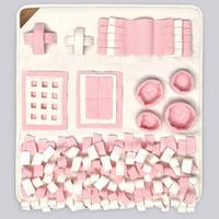 PREMIUMクンクンマット・ Mサイズ(ピンク)