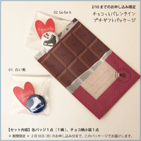 FSLoveアイコン缶バッジ (2.5cm)チョコ柄プチギフト袋付き