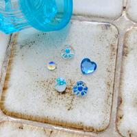 パーツセット(Blue flower)