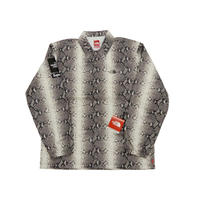 Supreme The North Face Snakeskin Taped Seam Coaches Jacket (Black)