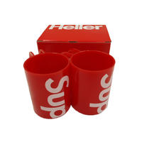 Supreme Heller Mugs (Set of 2) Red