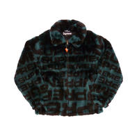 Supreme Faux Fur Repeater Bomber (Teal)