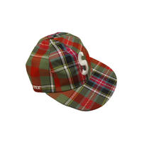 Supreme Gore Tex S logo 6 panel Plaid