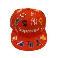 Supreme MLB New Era Orange