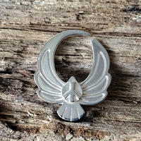 Eagle Pierce Silver Base(Silver & Brass)